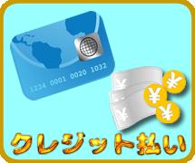 クレジット払い1